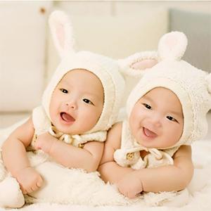 双子は全部そっくり