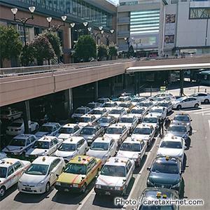 仙台駅前タクシー乗り場